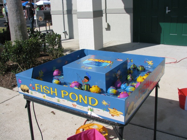 Carnival games fun crew everything but the mime for Big fish in a small pond game